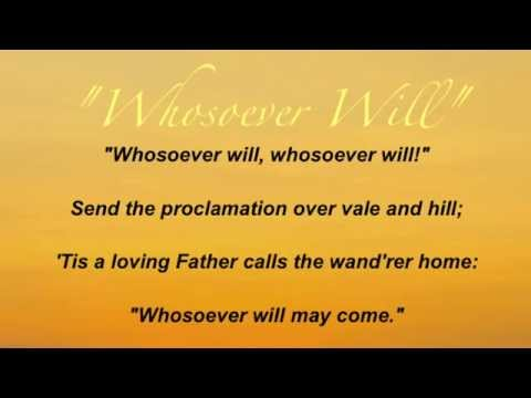 Hymnal - Whosoever Will