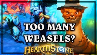 Hearthstone Too Many Weasels ~ Knights of the Frozen Throne Expansion