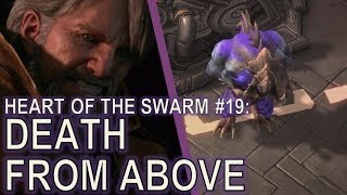 Starcraft II: Heart of the Swarm Mission 19 - Death From Above [ALL ACHIEVEMENTS!]