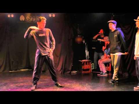 TA-NI-&TECCHY vs YAMATO+RIXY FINAL POP / JuiCe!!! vol.14 DANCE BATTLE