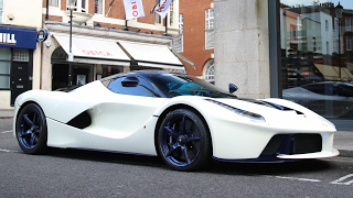 1of1 Tailor made Ferrari LaFerrari, highly customised with blue carbon, blue wheels and windows