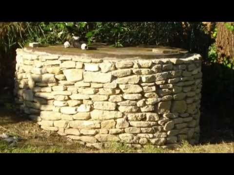 Parement et habillage d 39 un mur en pierre youtube - Mur en pierre meuliere ...