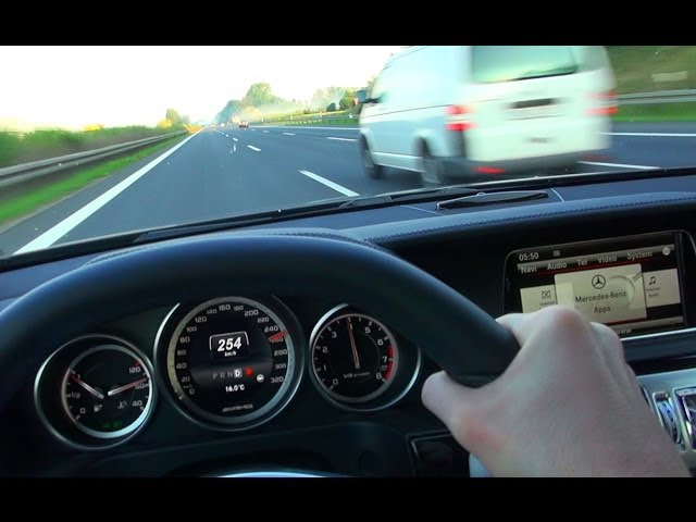 Mercedes E63 AMG Onboard Acceleration Autobahn ... - YouTube
