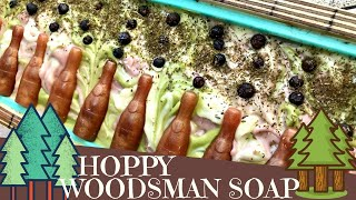 Making of HOPpy Woodsman Cold Process Beer Soap | 🌲 GYPSYFAE CREATIONS