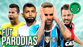♫ COPA DO BRASIL: LUAN NO BOLSO E FÁBIO MITOSO | Paródia Casa Amarela - Guilherme e Santiago