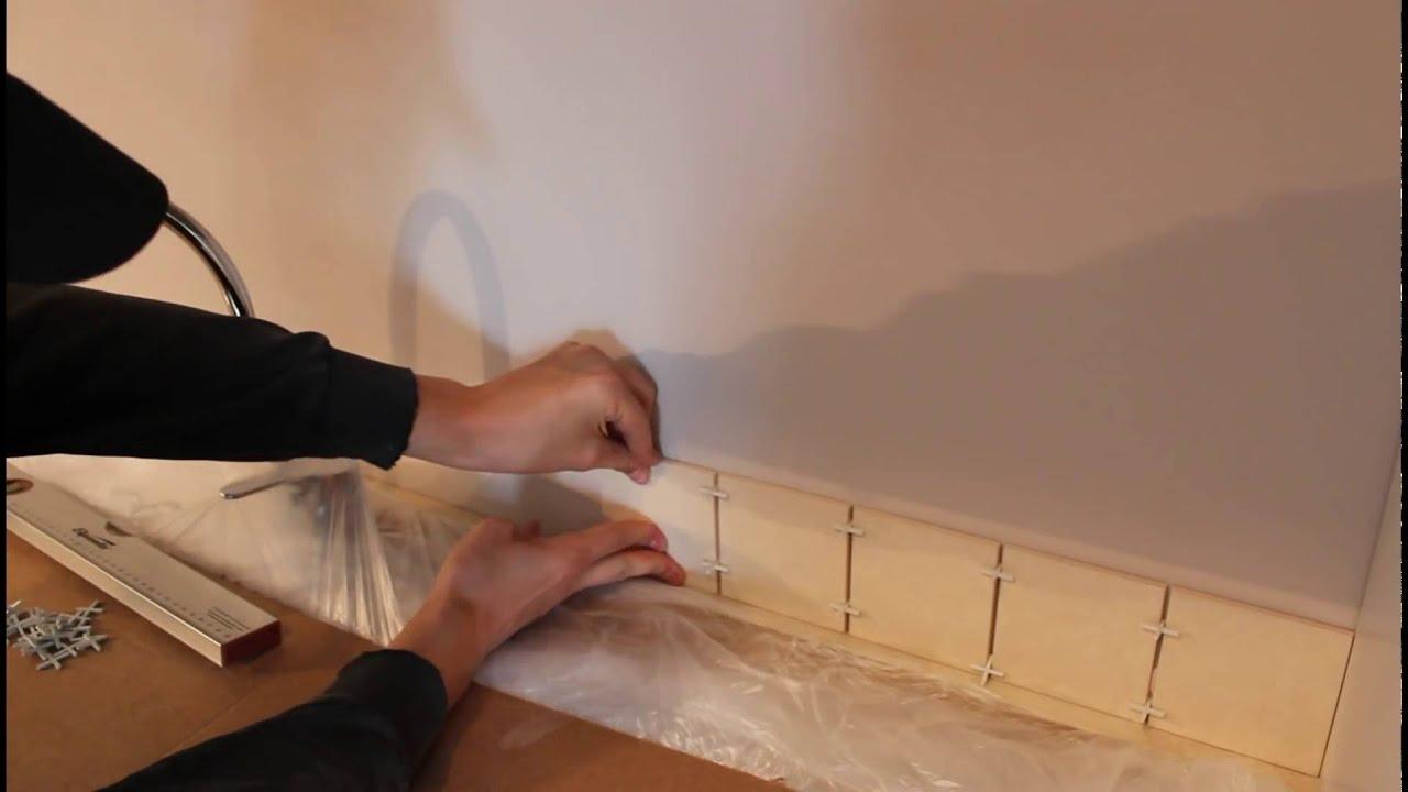 Как положить плитку в кухню своими руками