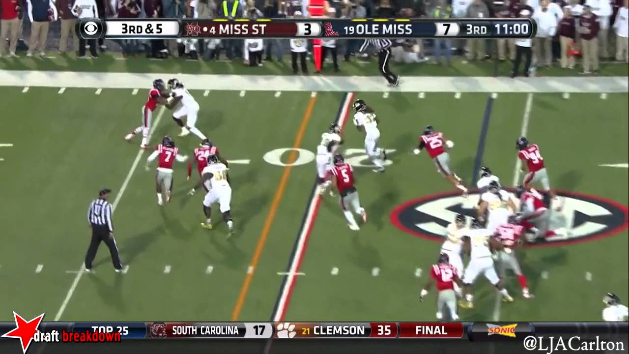 Tony Conner vs Mississippi State (2014)