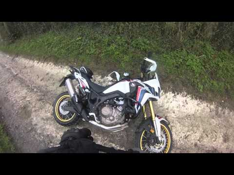 Africa Twin Adventures - First Crash :(