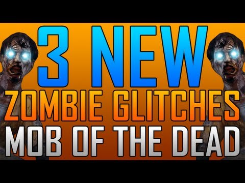 Black Ops 2 Glitches: 3 New Zombie Glitches on Mob of the Dead!