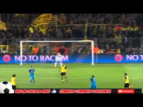Goal hulk Borrussia Dortmund vs Zenit 1 2 Champions League 2014