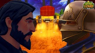 NOOB STEALS JOHN WICKS CHEST! *BAD IDEA* Fortnite Short Film