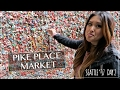 Pike Place Market, Gum Wall, FOOOOD! | Seattle 2017 | Day 2