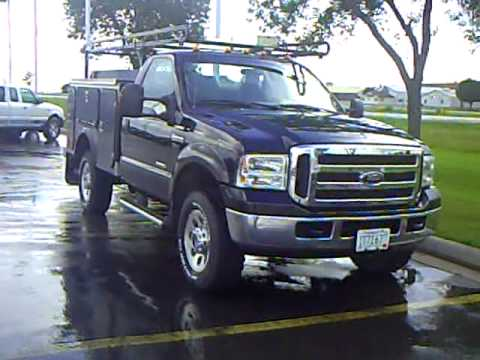 2005 Ford F350 Utility Truck Youtube