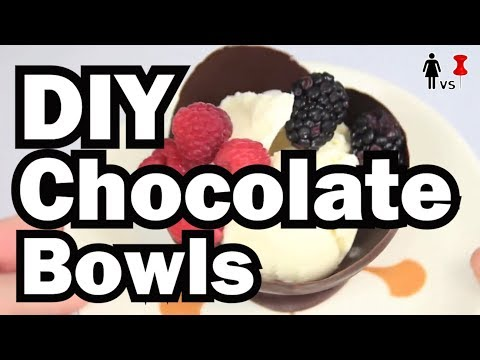 DIY Chocolate Bowls, Corinne VS Pin #8, Pinterest Test