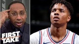 ESPN - Markelle Fultz has the makings of a 'colossal bust'   Stephen A   First Take