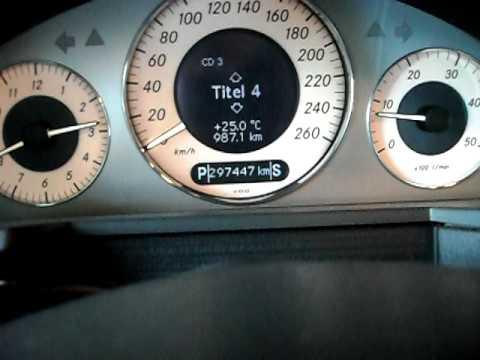 Mercedes W211 E 220 Cdi Avantgarde Pl Prezentacja Youtube