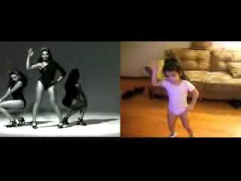 Видео как танцуют маленькие дети