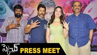 Chiyaan Vikram's Sketch Movie Press Meet | Tamanna Bhatia, D.Suresh Babu | Sillymonks Tollywood
