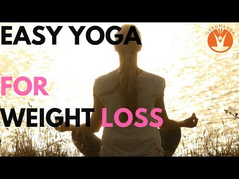 GuruNanda - Easy Yoga for Weight Loss & Obesity - Video #4
