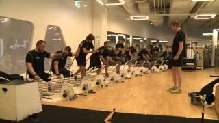 Hård træning til lang tur