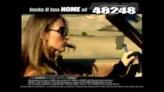 Rocco Siffredi and Rosa Caracciolo in mobile phone commercia