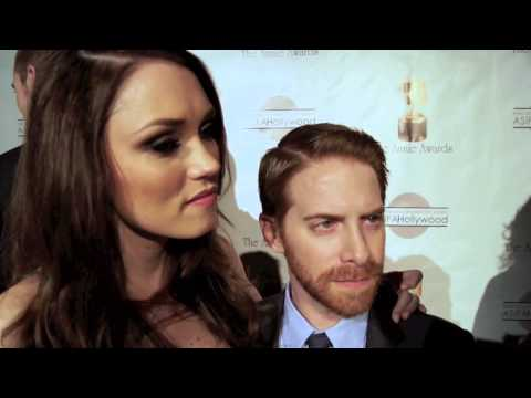 Seth Green and his wife Clare Grant at The 40th Annual Annie Awards