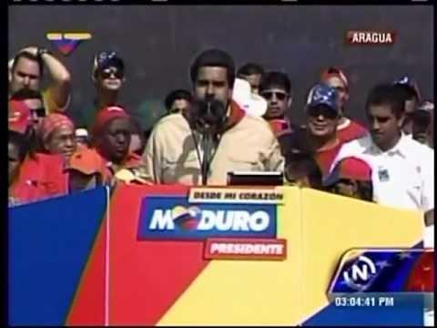 Maduro pide a artistas que apoyan a Capriles R. que no lo llamen malandro