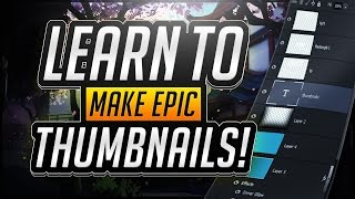 How To Make a Thumbnail For YouTube With Photoshop CS6/CC In 2017!