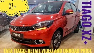 TATA TIAGO XZ+ || DETAIL VIDEO & ON ROAD PRICE || M.A.S.K