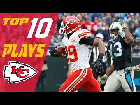 Chiefs 10 Plays Of 2016 Season Nfl Highlights