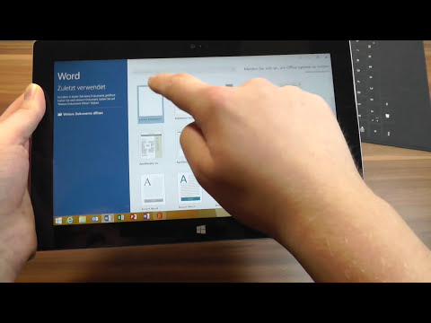 Microsoft Surface 2 Unboxing und Kurztest | Deutsch - German