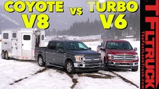 You Asked For It! Ford F-150 V8 and EcoBoost V6 Take On The World's Toughest Towing Test