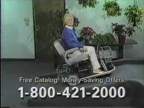Rascal Electric Scooter Commercial 1995 Youtube