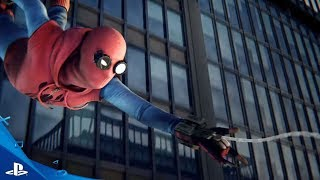 """""""SPIDER-MAN PS4""""   Homemade Suit   Easter Eggs   Special Suit Powers Details"""