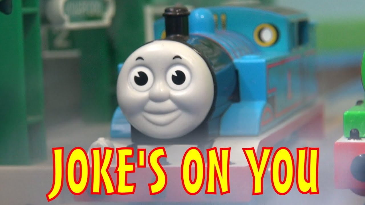 tomica thomas amp friends short 34 joke s on you   youtube