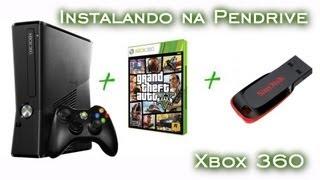 Como instalar GTA V no Xbox 360 - Pendrive [PT-BR]