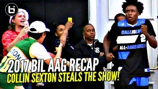 Collin Sexton & Jaylen Hands STEAL THE SHOW at 2017 Ballislife All American Game!! B.McCoy Co-MVP!