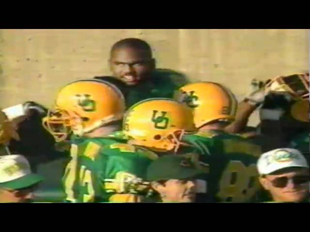 Oregon WR Patrick Johnson 68 yard touchdown catch vs. ASU 11-05-1994