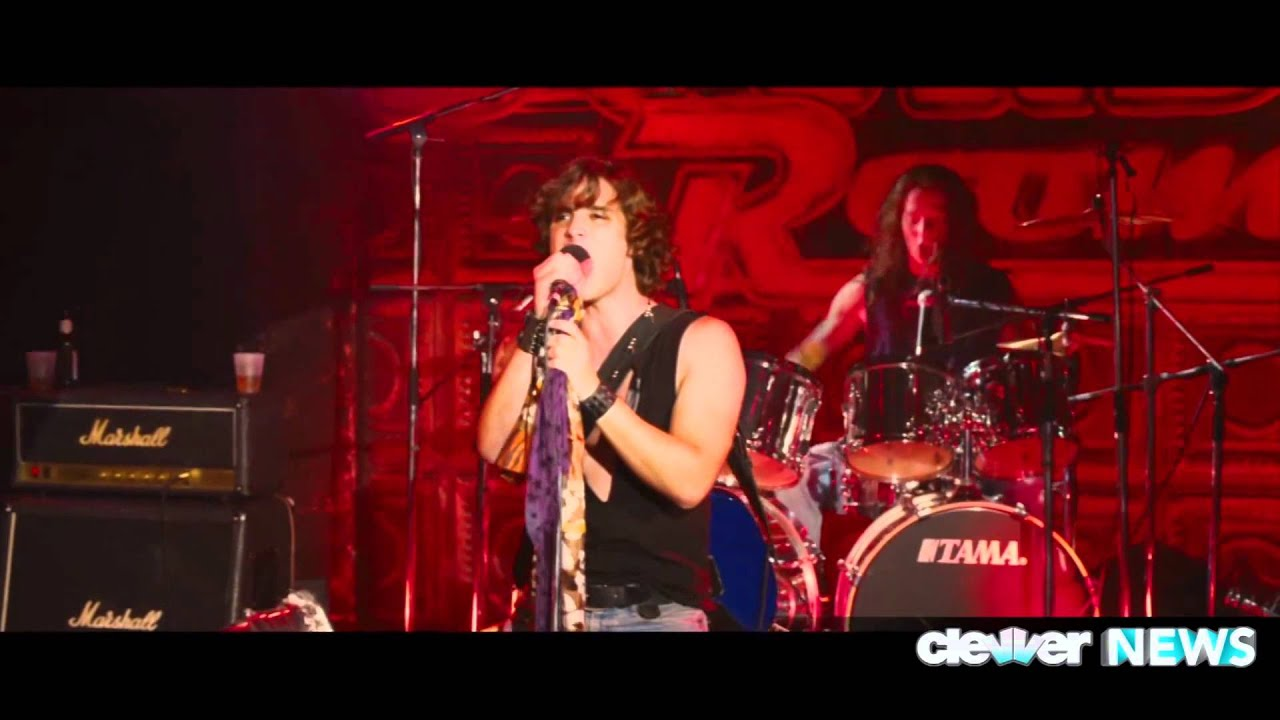 Diego Boneta Rock Of Ages Singing
