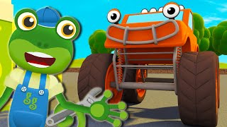 Max The Monster Truck Song   Gecko's Garage   Songs For Children   Educational Videos For Toddlers