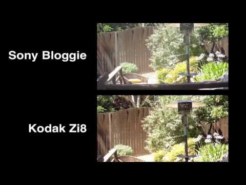 Sony Bloggie vs. Kodak Zi8 - Portable HD Video Recorder Comparison by HighTechDad