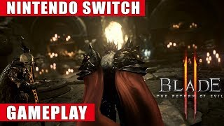 Blade II - The Return Of Evil Nintendo Switch Gameplay