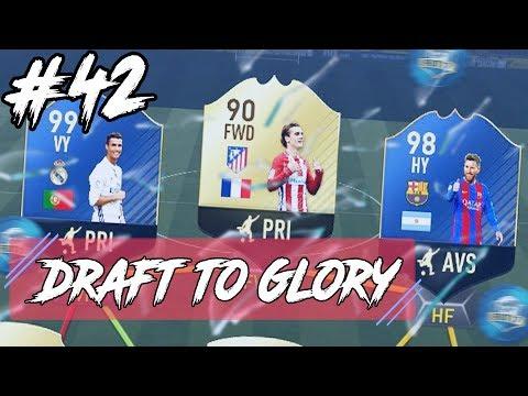 SUPERTRION! + SISTA CHANSEN ATT PACKA EN TOTS! | DRAFT TO GLORY #42 | Fifa 17 på svenska!