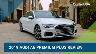 2019 Audi A6 Premium Plus Test Drive and Review