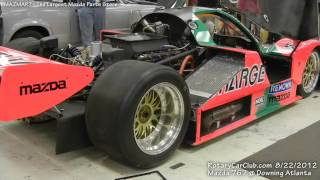 The Mazda 767 - 26B, Four Rotor at Downing Atlanta Revving up!