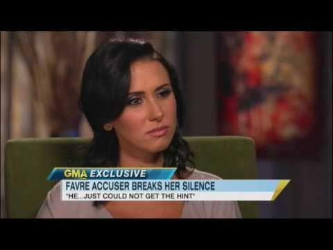 Jenn Sterger Interview: 'I've Never Met Brett Favre' 'GMA' 2011