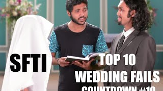 Top 10 Wedding Fails - Countdown #10 - SFTI (Sorry for Interruption) - Comedy One