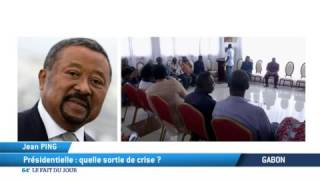 Gabon: Présidentielle, Quelle sortie de crise?