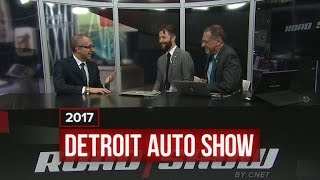 Lamborghini COO Alessandro Farmeschi talks sports cars and SUVs in Detroit