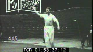 Stock Footage - 1941 TENNIS: FRANK KOVACS VS. DON BUDGE